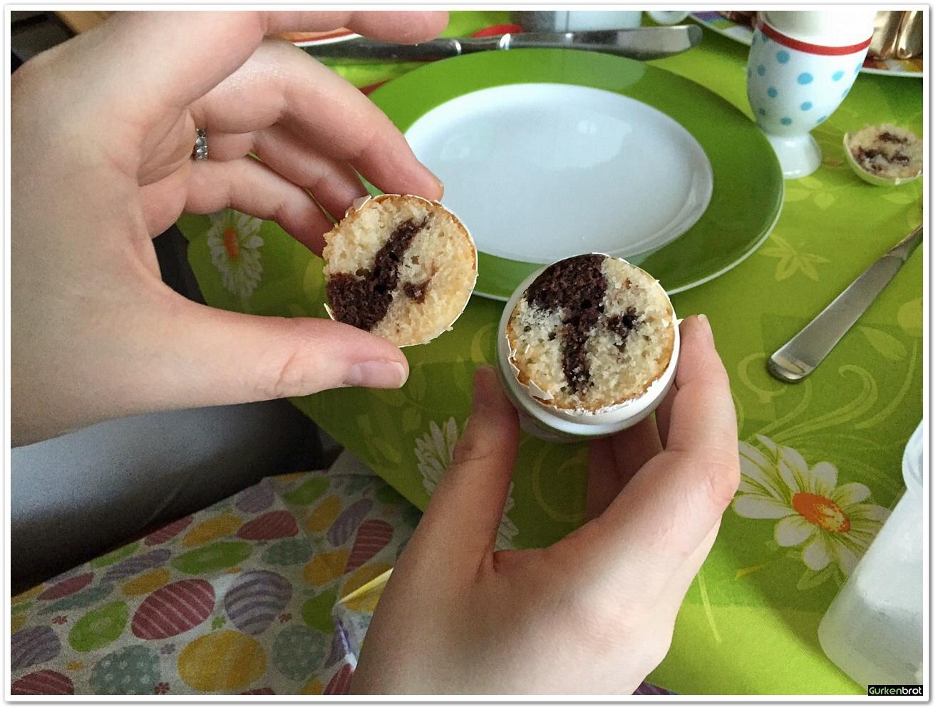 Kuchen im ei gurkenbrot for Fertigküchen