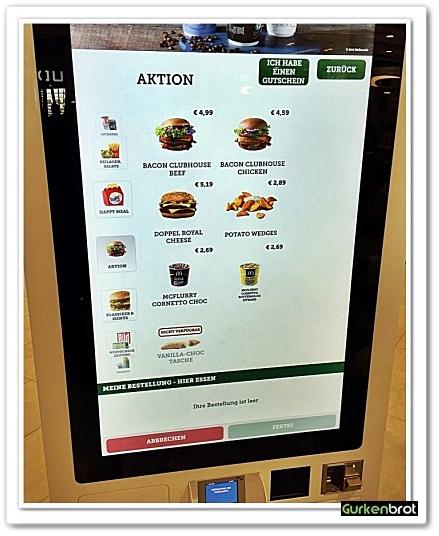 McDonalds FRA Flughafen_TouchScreen