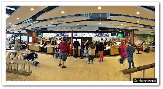 McDonalds FRA Flughafen_keine langen Schlangen
