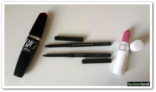Avon_Produkte_Mascara Glimmerstick Lippenstift