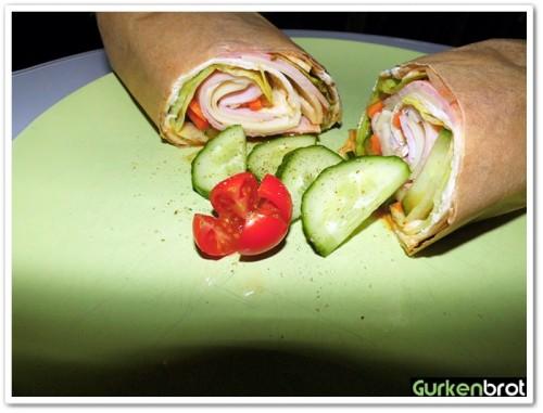 GEFRO-Balance_Salat-Wrap mit Schinken und Käse