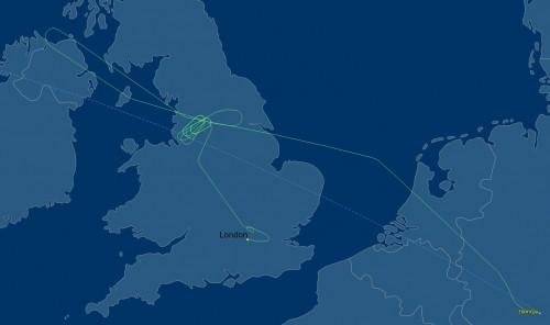 Flight Karten_Heathrow