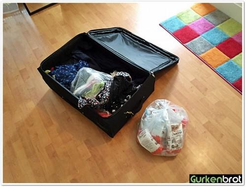 USA-Vorbereitung_Koffer packen